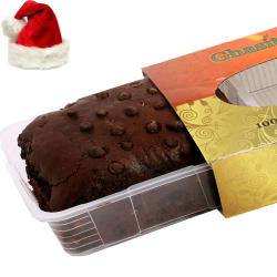 Punjabi Ghasitaram Christmas Gifts - Choco Chip Cake