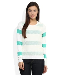 Madame Green Round Neck Sweater