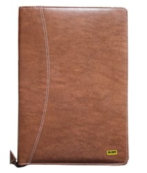 Renown Brown Executive Leather File Folder