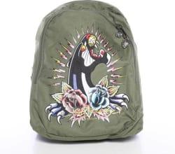 Ed Hardy B1JOSPAN Backpack (Khaki, 12 inch)