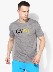 Baltimore Grey Graphic Round Neck T-Shirt