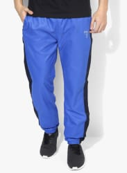 Grimes Blue Solid Track Pant