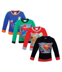Justice League Multicolour Crew Neck Sweatshirt