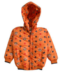 Come In Kids Full Sleeve Printed Boys Quilted Jacket