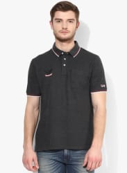 Mert Dark Grey Polo T-Shirt