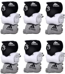 Adidas Men s & Women s Ankle Length Socks (Pack of 18)