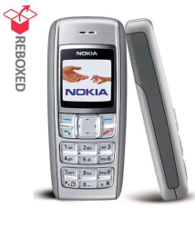 REFURBISHED Nokia 1600 Ceramic White (6 Month Warranty Bazaar Warranty)(With compatible battery & charger)