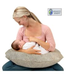 Kradyl Kroft Oval Cotton Nursing Pillows