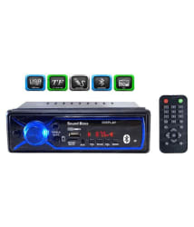 SOUNDBOSS SB-0000BT Single DIN Car Stereo