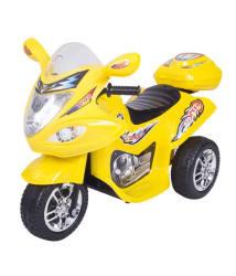 HLX-NMC Battery Operated Fun Bike - Yellow