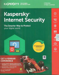 KASPERSKY Internet Security 2018 1 Pc 1 Year New Slim Pack (1 Instalation cd ,365 days valid Serial key Upgradable Edition) With Ransomeware Protection