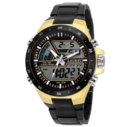 Laurels Digital Analog Black Dail Men Watch (Lo-Digi-VI-020206)