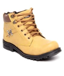 Shoe Island Beige Hiking & Trekking Boot