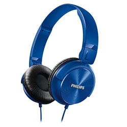 Philips SHL3060BL Headphones (Blue)
