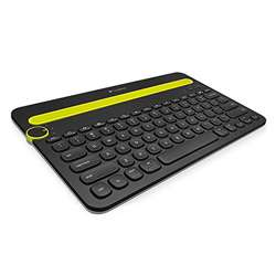 Logitech K480 Bluetooth Multi-Device Keyboard (Black)
