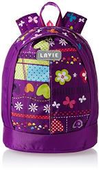 Lavie Purple Casual Backpack (BLEI922037D2)