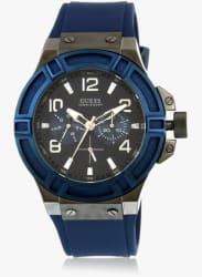 W0248g5 Blue/Grey Analog Watch