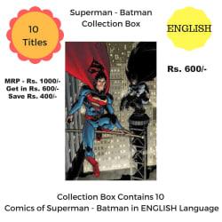 Superman-Batman Collection Box (English)