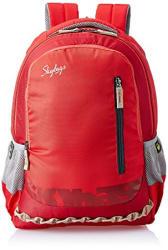 Skybags Red Laptop Backpack (LPBPVI3ERED)