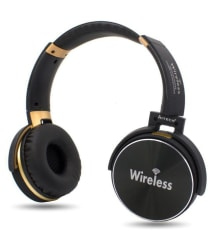Hitech HT22B Over Ear Wireless Headphones With Mic