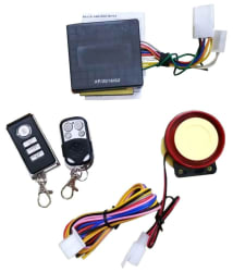 Ultron Anti-theft Security System Alarm with Remote (For all bikes)