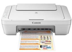 Canon PIXMA MG2570 Printer, white
