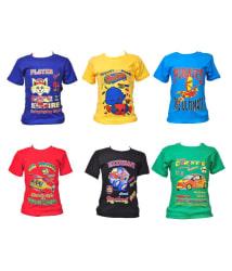 Pari & Prince Casual Tshirts Combo - Pack of 6