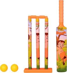 Montez Cricket set for kids orange  (Multicolor)