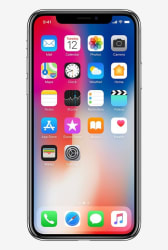 Apple iPhone X 256GB (Silver)