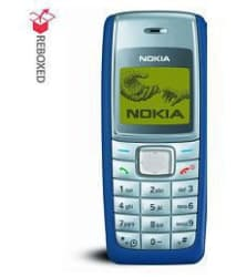 REFURBISHED Nokia 1110i Blue (6 Month Warranty Bazaar Warranty)(With compatible battery & charger)