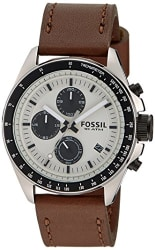 Fossil Chronograph Silver Dial Men s Watch - CH2882
