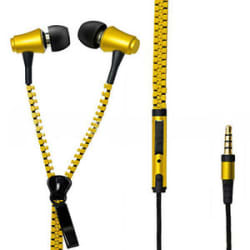 Details about Crytec Zipper latest In-Ear Earphone Headphone For Mobile With Mic 3.5mm Jack