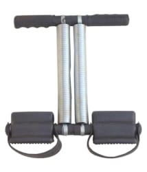 Deemark Double Spring Tummy Trimmer Black Gym Accessory