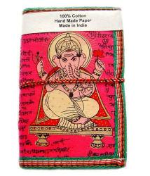 Rastogi Handicrafts Handmade Paper Diary Pink Ganpati