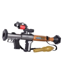 Planet Of Toys Multicolor Gun with Music and Flashing Light