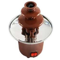 Details about Chocolate Fountain Machine Fondue Maker Heated 3-Tier Home Household Party