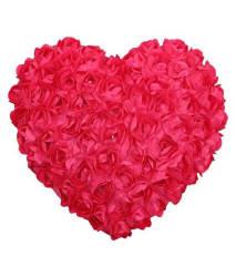 Tickles Heart Cushion 37 Cm Cushions - Pink