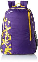 Skybags Polyester Purple Casual Backpack (BPBRA7EPPL)
