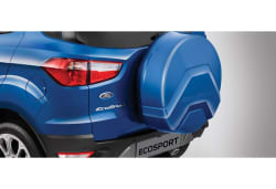 New Ford Ecosport Stepney Cover 17 Inch, smoke grey