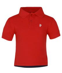 Nauti Nati Red Polo Neck T Shirt