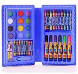 42 Pcs Colour Kit for Art & Drawing(Crayons,Oil Pastel,Sketch Pens, Water Colours)