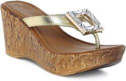 Catwalk Women GOLD Wedges