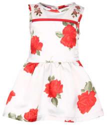 Nauti Nati Baby Girl Red Dresses
