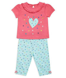 FS MiniKlub Baby Girl Tops & Bottoms Sets Pack of 2