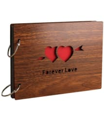 Sehaz Artworks Forever Love Wood Photographs Without Frame Single Piece