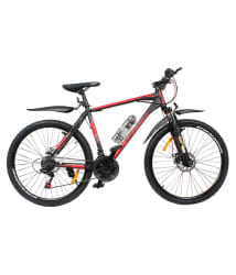 COSMIC ELDORADO 1.0L 21 SPEED MTB BICYCLE BLACK/RED-PREMIUM EDITION