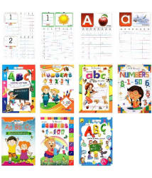 Inikao Play School Copy Writing Practise Book set of 7
