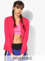 Reversible Pink Sweat Jacket