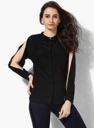 Black Solid Shirt