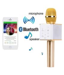 BUNNYTECH WS-858 Portable Wireless Bluetooth Karaoke Mic